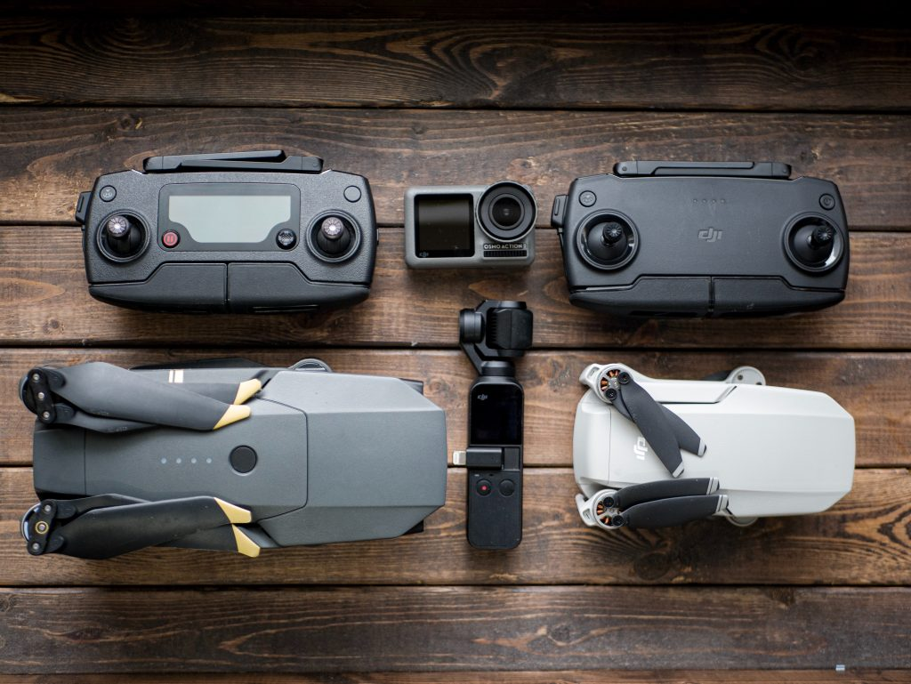 Mavic Mini as compared to other DJI products